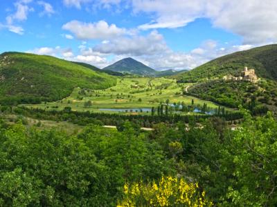 Romitorio e anello Monte Tezio guida MTB escursioni Perugia Umbria
