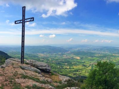 Cima Monte Tezio guida MTB escursioni Perugia Umbria