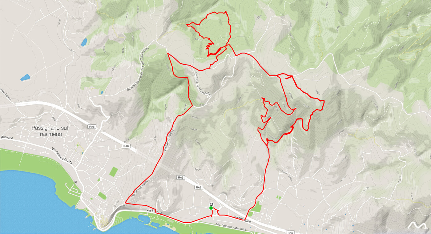 Passignano sul Trasimeno Enduro Mountain Bike Umbria
